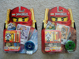LEGO-Ninjago-Rare-2174-Kruncha-amp-2175-Wyplash-New-amp-Sealed