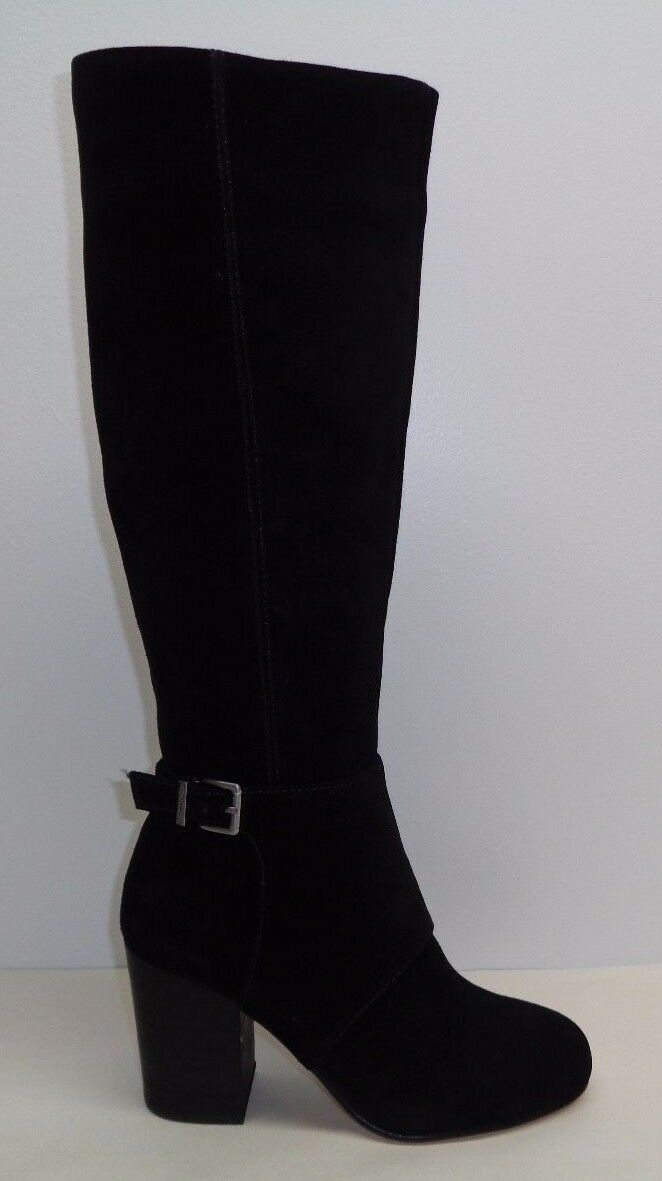 BCBG BCBGeneration Size 5.5 DENVER Black Suede Knee High Boots New Womens Shoes