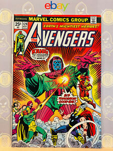 Avengers-129-8-5-VF-Kang-the-Conqueror-Appearance-1974-Bronze-Age-Key-Issue