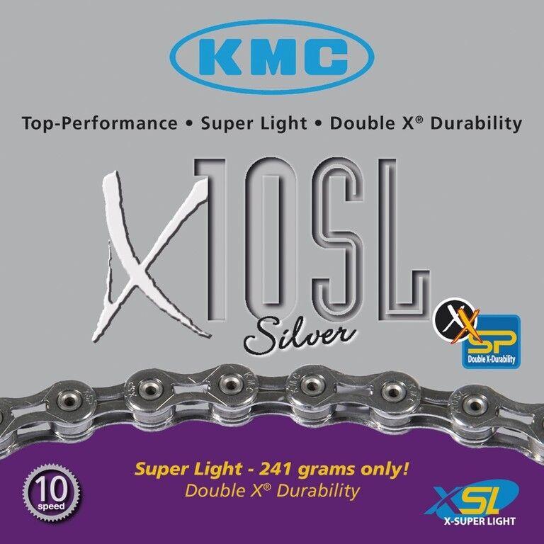 KMC X10SL 10-fach Kette // 114 Glieder