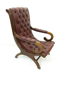 Button-back-leather-office-library-chair-2267L