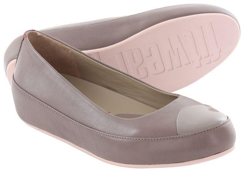 FitFlop™ DUE UK MINK LEATHER PLATFORM EUR BALLERINA PUMPS Schuhe UK DUE 5.5 ... d9c30b