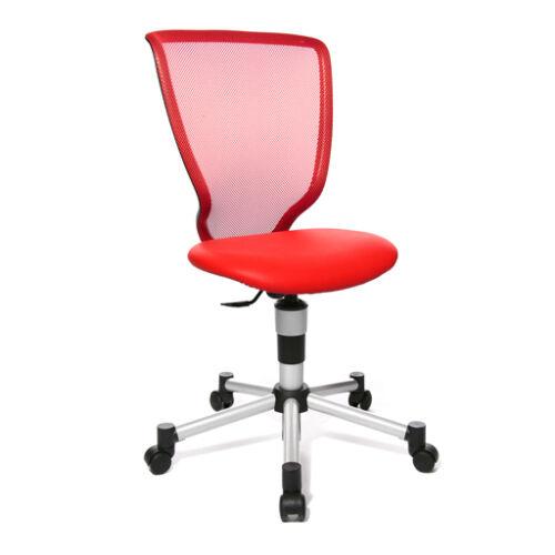 Kinderstuhl Bürostuhl Schreibtisch Drehstuhl Topstar Titan Junior rot B-Ware