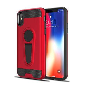 Rosso-IPHONE-Custodia-x-Xs-7-8-Cavalletto-Gomma