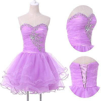 FINAL CLEARANCE Short Homecoming Prom Ball Formal Evening Party Dance Club Dress