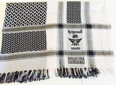 Dress Scarf Desert Arab Versatile Shemagh 100% Scarves New Arafat Palestine Head