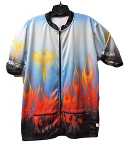 New Reverse Gear Inc Mens 4XL Phoenix Cycling Jersey