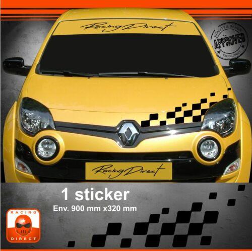 Sticker Renault Twingo RS tuning sport aufkleber adesivi pegatina decal 202