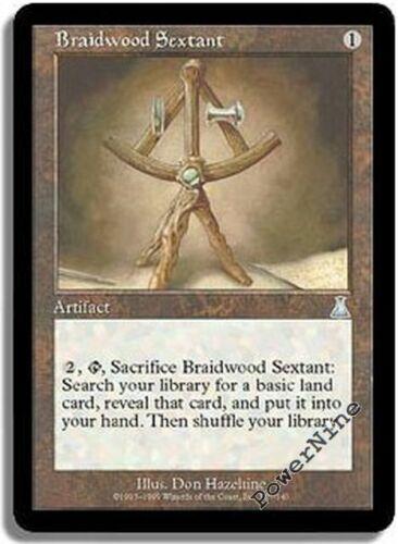 4 FOIL Braidwood Sextant - Artifact Urza's Destiny Mtg Magic Uncommon 4x x4