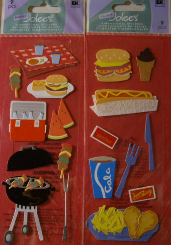 FAST FOOD *Your Choice NEW COOKOUT PICNIC Grill Chicken Watermelon JOLEE/'S