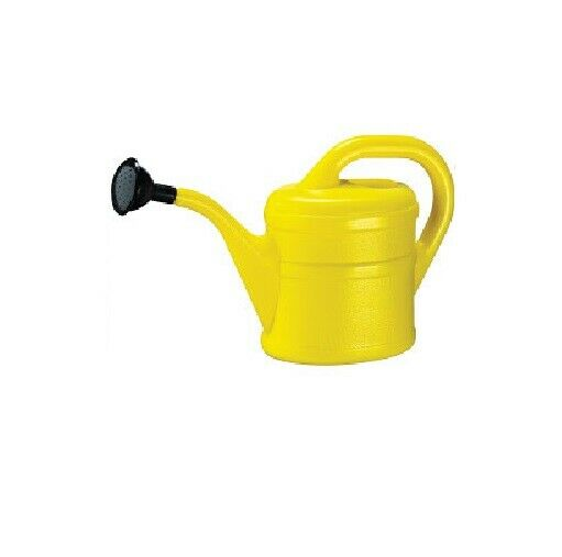 Childrens / Kids Watering Can - Indoor and Outdoor Use - 1L - Yellow