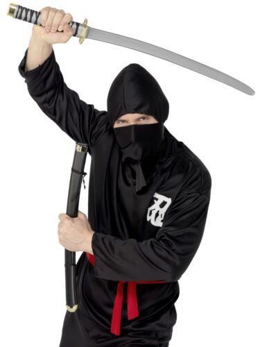 Sword And Scabbard Plastic Ninja Fighter Martial Arts Fancy Dress Accessory