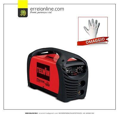 815853 Saldatrice inverter Telwin FORCE 165 ad elettrodo MMA Art