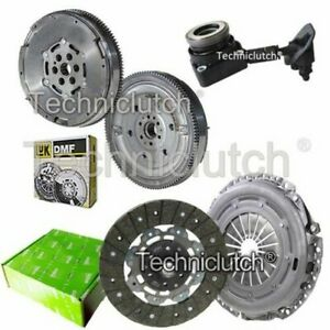 VALEO 2 PART CLUTCH KIT AND LUK DMF WITH CSC FOR VOLVO C30 HATCHBACK 1.6 D