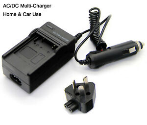 NP80 BATTERY CHARGER FOR CASIO EXILIM EX-Z280 EX-Z335 DIGITAL CAMERA EX-Z330