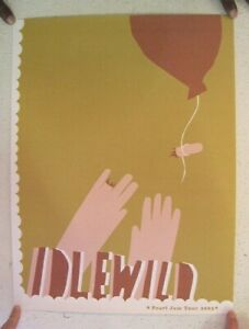 Pearl-Jam-Tour-2003-Poster-Idlewild