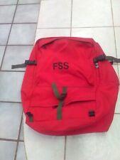 Fss Wildland Firefighter Red Gear Deployment Bag Usfs Blm Cdf Cal Fire Brand New