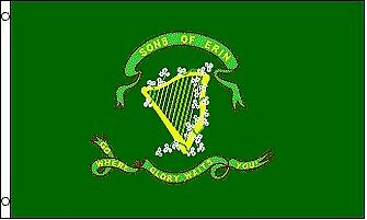 SON OF ERIN Flag 3x5 Polyester