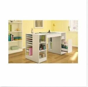 Wonderful ... Craft Project Table Crafting Station Desk Storage Organizer