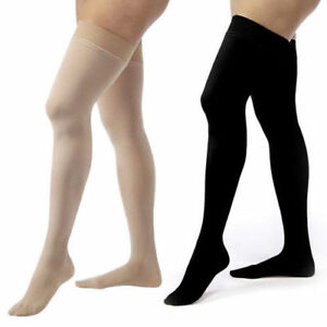 cd07f55be8851 NEW Jobst Relief Thigh High DOT Unisex Compression Stockings Sock ...