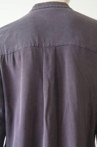 Camicia alto a 38 di senza collo Purple maniche a Joseph Joseph lunghe seta Uk10 in maniche prugna XqXSdrTwZ