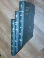 Genet Cinquante ans d'Histoire 1900-1950  Pf Herriot illustré complet 3 volumes