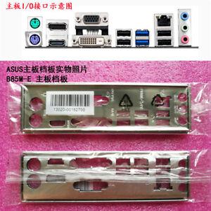 Original IO I//O Shield Back Plate BackPlate Blende Bracket for ASUS P8P67 PRO RE