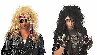 Adult Heavy Metal Rocker BON JOVI Costume Perruque