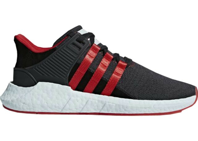 a37f9df3179 adidas EQT Support 93/17 Yuanxiao Mens Db2571 Black Red Running Shoes Size  11