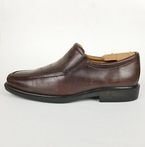 Johnston-amp-Murphy-Mens-Leather-Slip-On-Shoes-Business-Casual-Loafer-Size-9-M