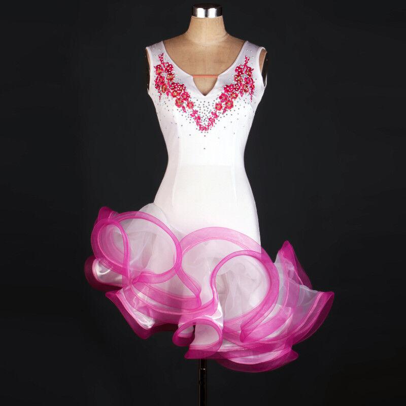 NEU Latino salsa Kleid TanzKleid LatinaKleid Latein Kleid Turnierkleid FM192