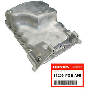 Genuine Engine Oil Pan Fits 2003 2004 Honda Acura Pilot Cl Tl Mdx 11200pgea00 Ebay