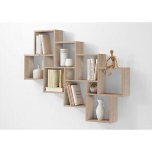 wandregal stufenregal h ngeregal wandboard regal laurio. Black Bedroom Furniture Sets. Home Design Ideas