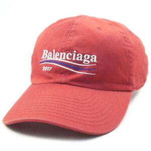 11da21b9 Image is loading BALENCIAGA-17AW-Campaign-Logo-Cap-Isetan-Limited-Campaign-