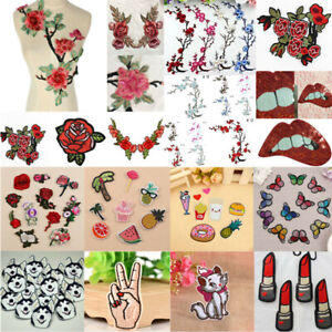 Embroidered-Sew-Iron-On-Patches-Badge-Fabric-Bag-Clothes-Applique-Craft-Transfer