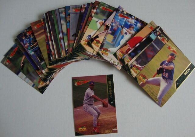 Baseball 1995 Signature Rookies Baseball Trading Card 1 Set 50 cards