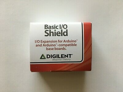I//O Expansion for your chipKIT Board Digilent ChipKit Basic I//O Shield