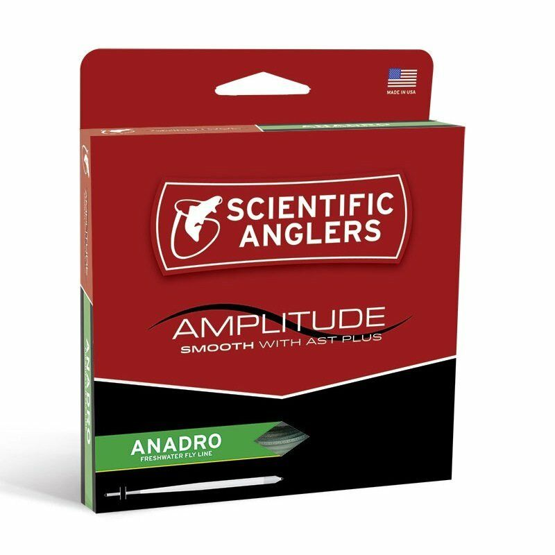 Scientific Anglers Amplitude Smooth AnadroNymph Fly Line  WF5F  nuovo