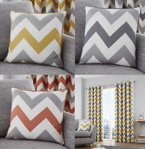 Chevron Cotton Cushion Covers Modern