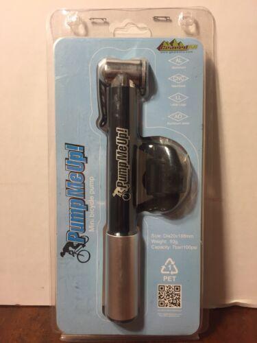 Mini vélo Pompe-pump me up par Réducteur 2U-Compact Aluminium 100psi