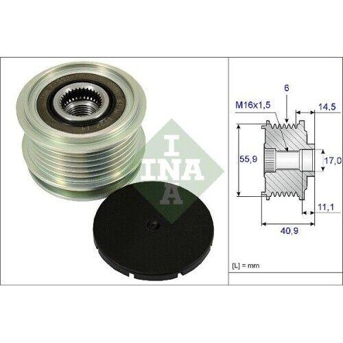 Generatorfreilauf Freilauf Riemenscheibe Lichtmaschine NEU INA 535 0012 10
