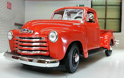 G LGB 1:24 Maßstab 1950 3100 Chevrolet Pickup Truck Druckguss Detailliert Modell