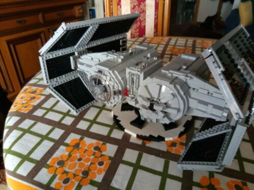 only virtual files TIE-SA Bomber LEGO Star Wars MOC UCS