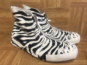 5d1091905c66 RARE🔥 Converse Chuck Taylor All Star Zebra Shroud Women s Zip ...