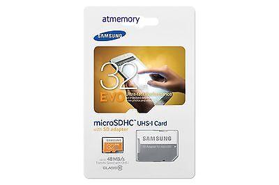 Samsung EVO 16GB 32GB 64GB 128GB Micro SD SDHC SDXC lot UHS-I C10 Memory Card