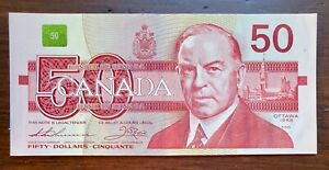 1988-50-Bank-of-Canada-Note-Thiessen-Crow-Extremely-Fine