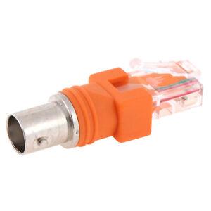Connettore-per-accoppiatore-cilindrico-coassiale-BNC-femmina-a-RJ45-maschio