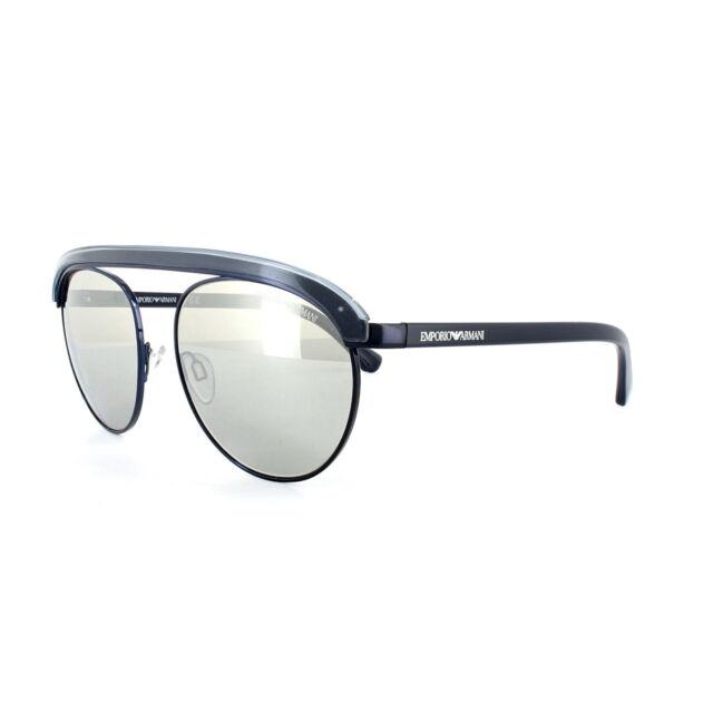 e8451a10ed2 Emporio Armani Sunglasses 2035 30196G Gunmetal Light Grey Silver Mirror