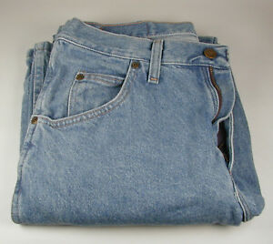 Men-039-s-Wrangler-Blue-Jeans-Regular-Size-31-x-32-Pre-owned