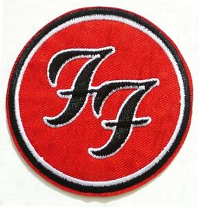 Foo Fighters Sew or Iron On Patch Free P/&P